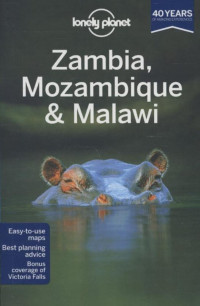 Lonely planet Zambia, Mozambique & Malawi dr 2