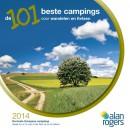 De 101 beste campings voor wandelen en fietsen 2014