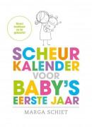 Scheurkalender voor baby's eerste jaar