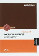 Praktijkdiploma loonadministratie wetteksten arbeidsrecht