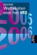 Wetteksten voor het heo 2005/2006