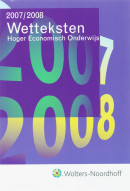 Wetteksten Hoger Economisch Onderwijs 2007/2008