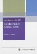 Hoofdstukken Sociaal recht 2008
