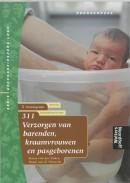 Gezondheidszorg Logo Verzorgen van barenden, kraamvrouwen en pasgeborenen