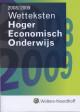 Wetteksten Hoger Economisch onderwijs 2008/2009