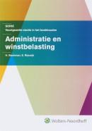 Serie voorgezette studie in het boekhouden Administratie en Winstbelasting