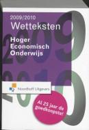 Wetteksten Hoger Economisch Onderwijs 2009-2010