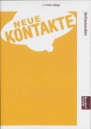 Neue Kontakte 1 Vmbo-(b) kgt 3-del ed Antwoordenboek