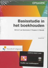 Basisstudie in het boekhouden Opgaven