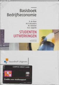 Basisboek bedrijfseconomie/Studenten uitwerkingen