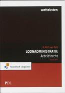 Prakijkdiploma Loonadministratie wetteksten arbeidsrecht wetteksten arbeidsrecht 2011