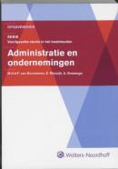 Administratie en ondernemingen opgave