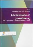 Serie voorgezette studie in het boekhouden Administratie en jaarrekening
