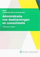 Serie voorgezette studie in het boekhouden Administratie van deelnemingen en consolidatie