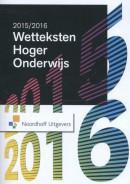 Wetteksten Hoger Onderwijs 2015-2016