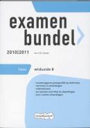 Examenbundel / 2010/201 / deel Havo Wiskunde B