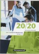 20/20 Administratie Leerwerkboek. Nieuwe editie leverbaar!