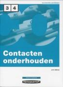 Contacten onderhouden Niveau 3/4 Praktijkboek