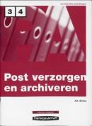 Postverzorgen en archiveren Niveau 3/4 Werkboek
