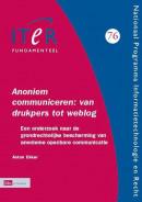 ITeR-reeks Annoniem communiceren: van drukpers tot weblog