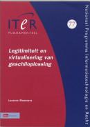 ITeR-reeks Legitimiteit en virtualisering van geschiloplossing