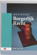 Sdu wettenverzameling Wetgeving Burgerlijk Recht studiejaar 2010-2011