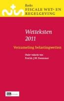Reeks Fiscale Wet- & Regelgeving Wetteksten 2011