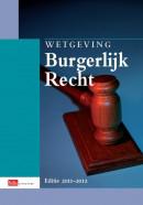 Sdu wettenverzameling Wetgeving Burgerlijk Recht Studiejaar 2011-2012