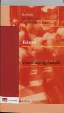 Teksten Vreemdelingenrecht 2011-2012