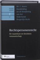 Asser serie Mr. C. Asser's handleiding tot de beoefening van het Nederlands burgerlijk recht Rechtspersonenrecht