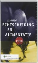 Memo Echtscheiding en alimentatie 2010