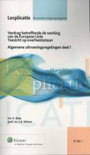 Lexplicatie Verdrag betreffende de Werking van de Europese Unie 1 Alg Uitvoeringsregelingen