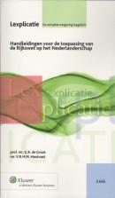Lexplicatie Handleidingen voor de toepassing van de Rijkswet op het Nederlanderschap