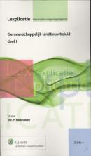 Lexplicatie Gemeenschappelijk landbouwbeleid deel I