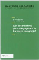 Wet bescherming persoonsgegevens in Europees perspectief