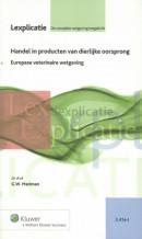 Lexplicatie Handel in producten van dierlijke oorsprong