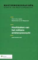 Studiepockets staats- en bestuursrecht Hoofdzaken van het militaire ambtenarenrecht