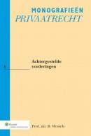 Monografieen Privaatrecht Achtergestelde vorderingen