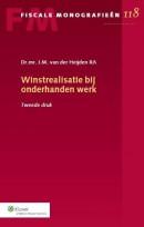 Fiscale monografien Winstrealisatie bij onderhanden werk binnen goed koopmansgebruik