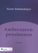 Antwoordwijzer Ambtenarenpensioenen 2012/2013