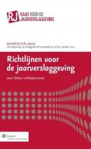 Richtlijnen voor de jaarverslaggeving voor kleine rechtspersonen 2013