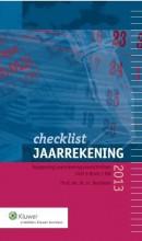 Checklist jaarrekening 2013