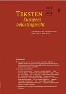 Teksten Europees belastingrecht 2013/2014