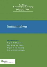 Handelingen Nederlandse Juristen-Vereniging Immuniteiten
