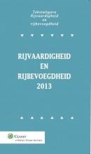 Tekstuitgave Rijvaardigheid en rijbevoegdheid 2013