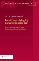 Fiscale monografieen Bedrijfsopvolging bij natuurlijke personen