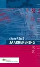 Checklist jaarrekening 2014
