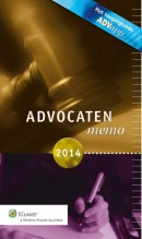Advocatenmemo 2014