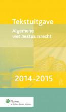 Tekstuitgave Algemene wet bestuursrecht 2014-2015