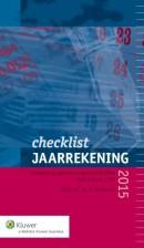 Checklist jaarrekening 2015